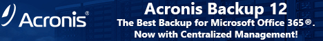 Acronis Backup Standard Office 365 Subscription License 5 Mailboxes 1 Year